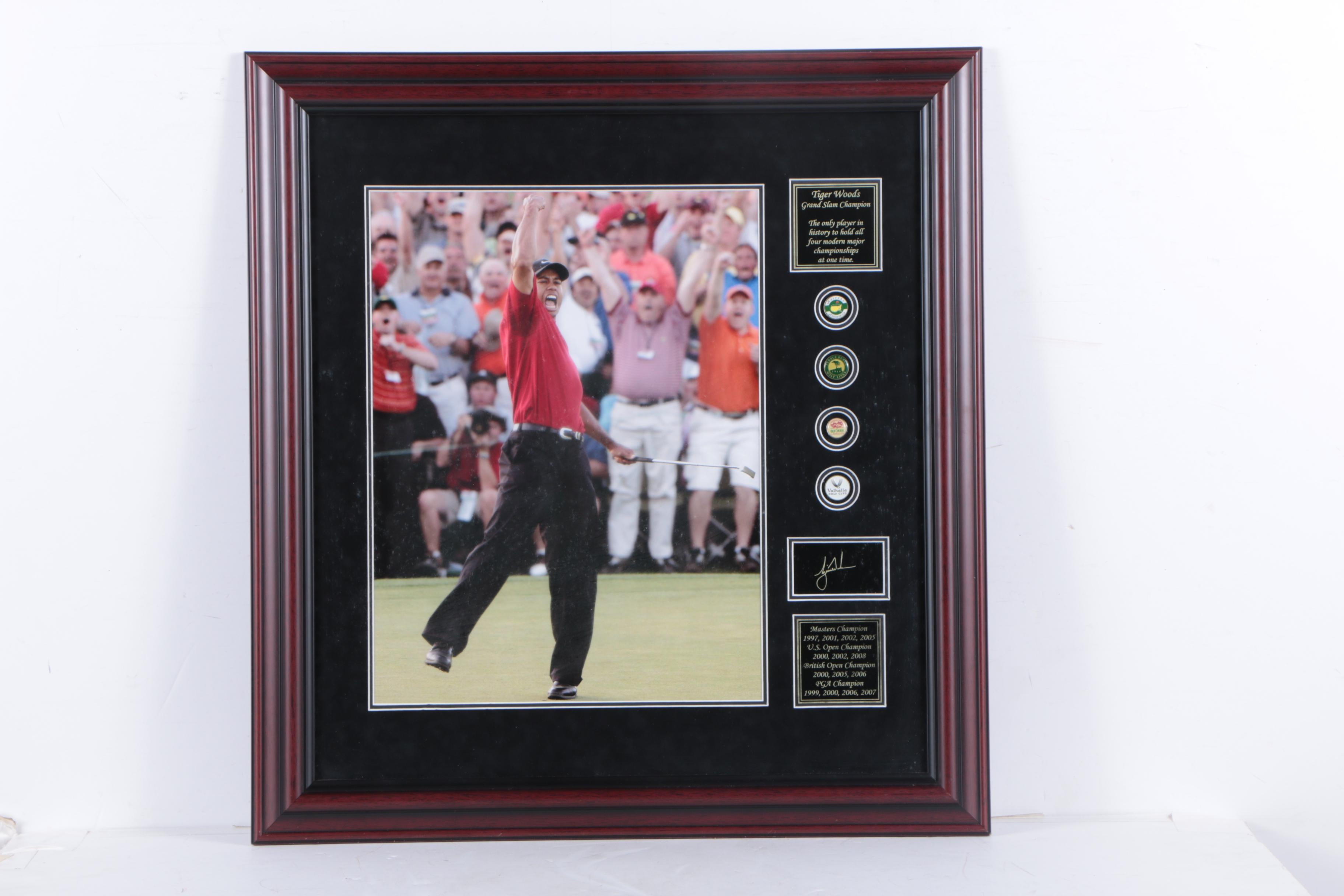 Tiger Woods Giclee Print on Paper