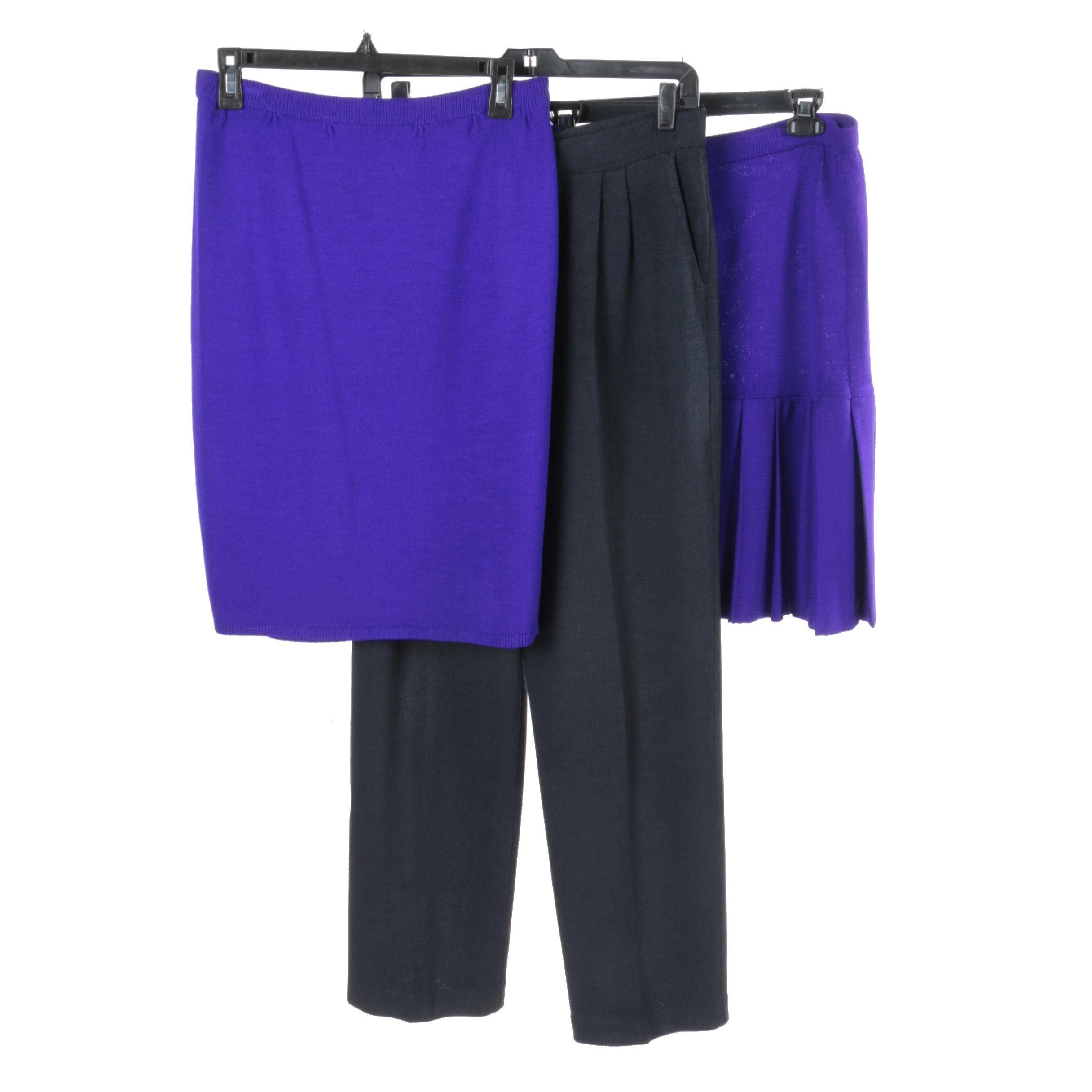St. John Clothing Including Pants and Skirts