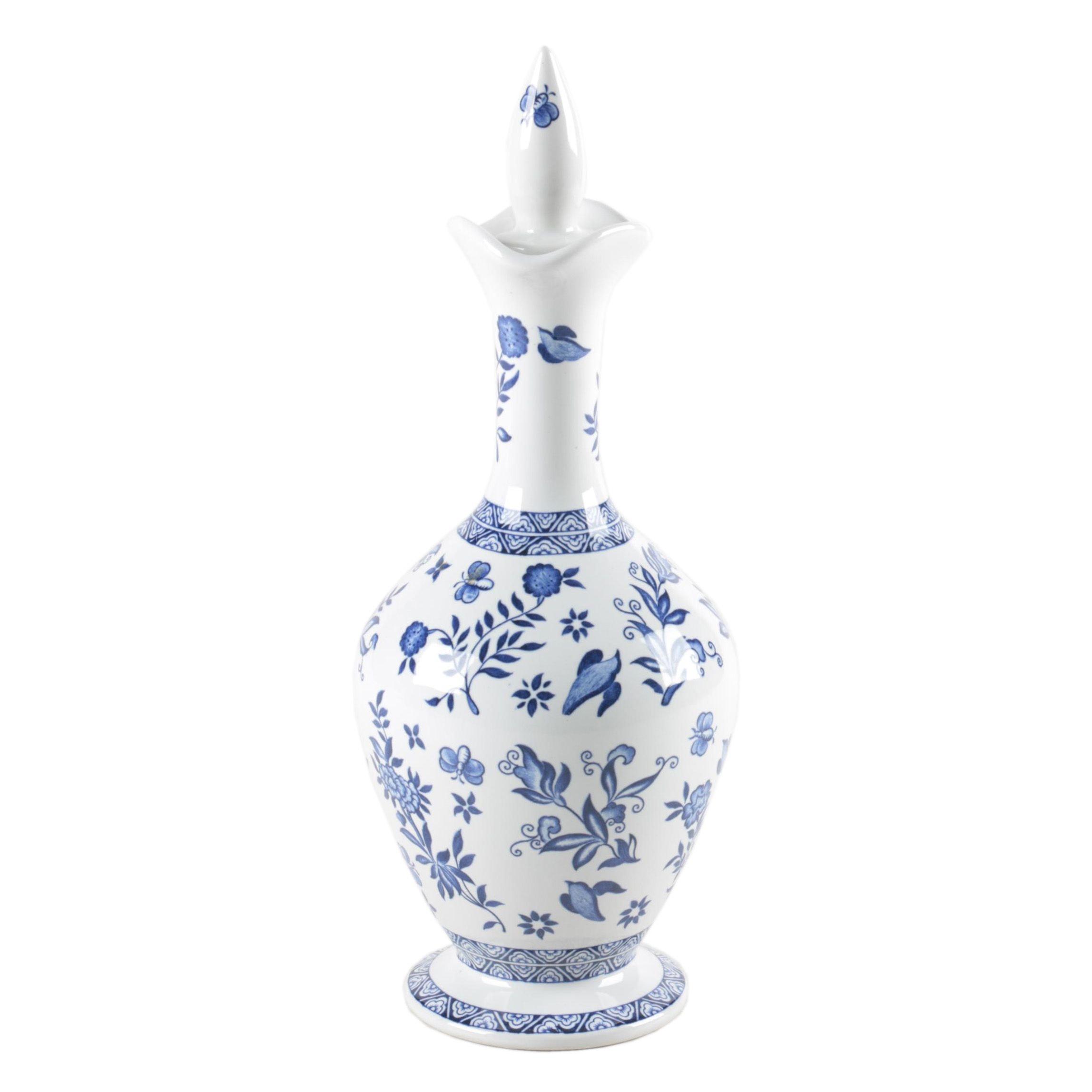 """Vintage Coalport """"Belfort"""" Porcelain Decanter"""