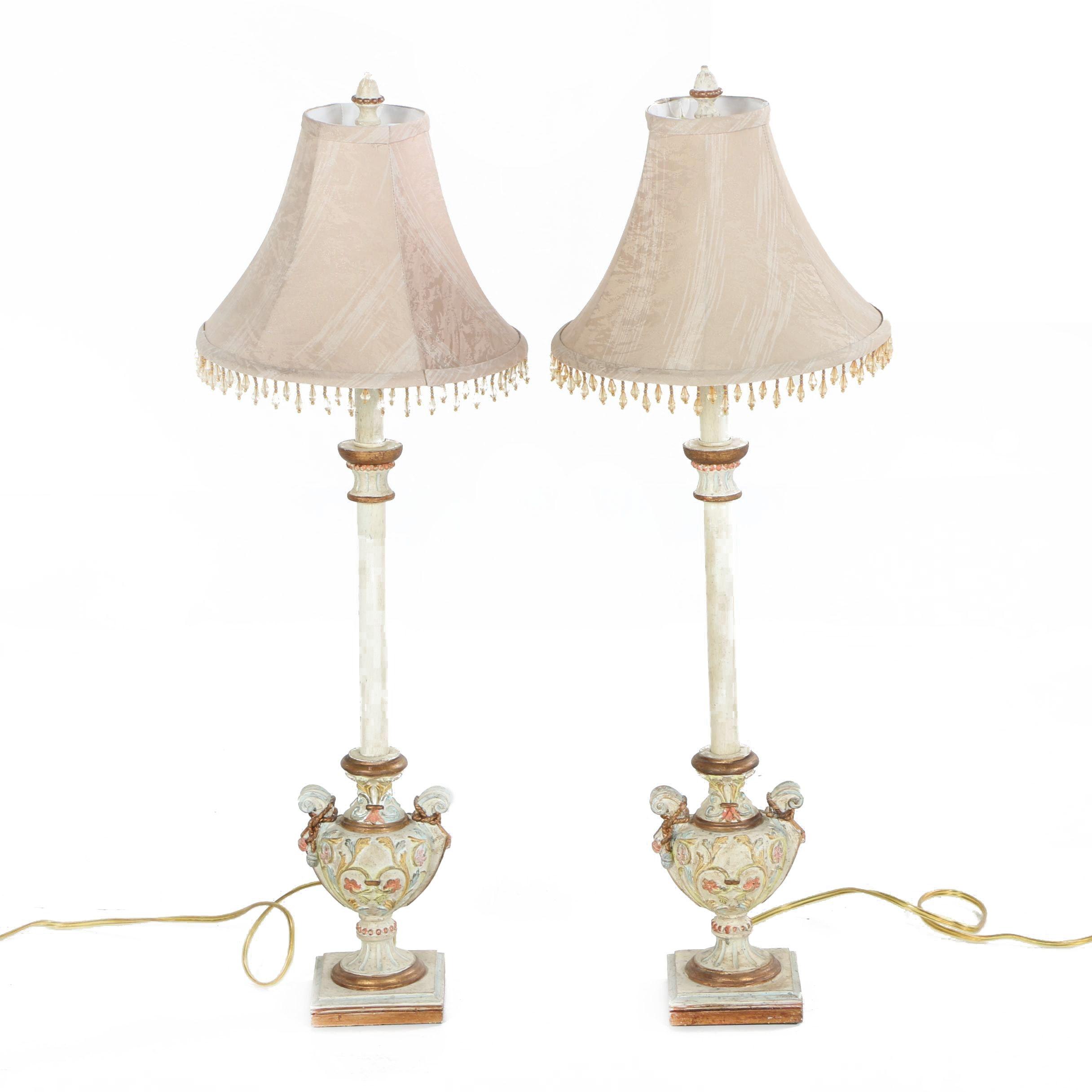 Pair of Buffet Lamps