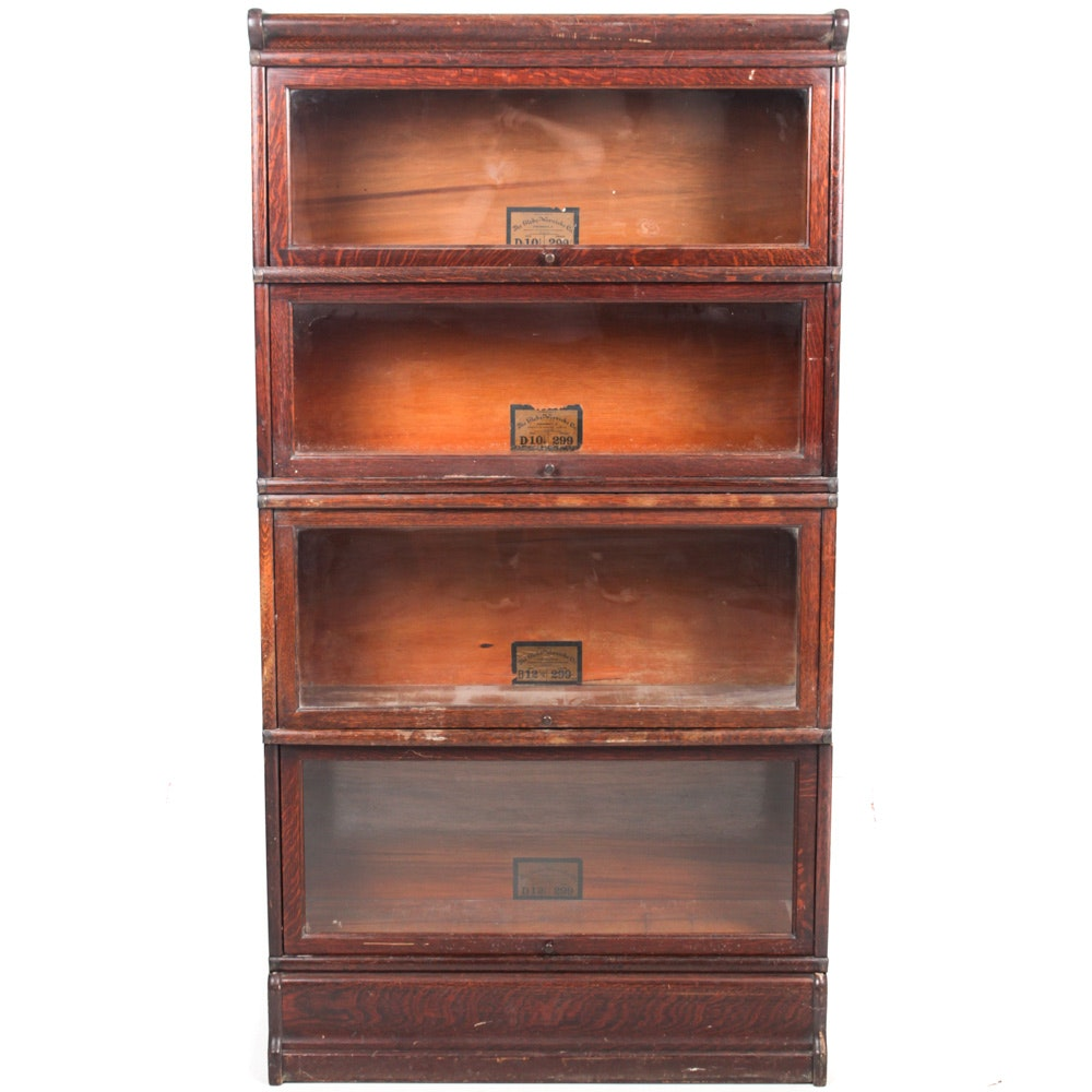 Vintage Barrister Bookcase by the Globe-Wernicke Co.