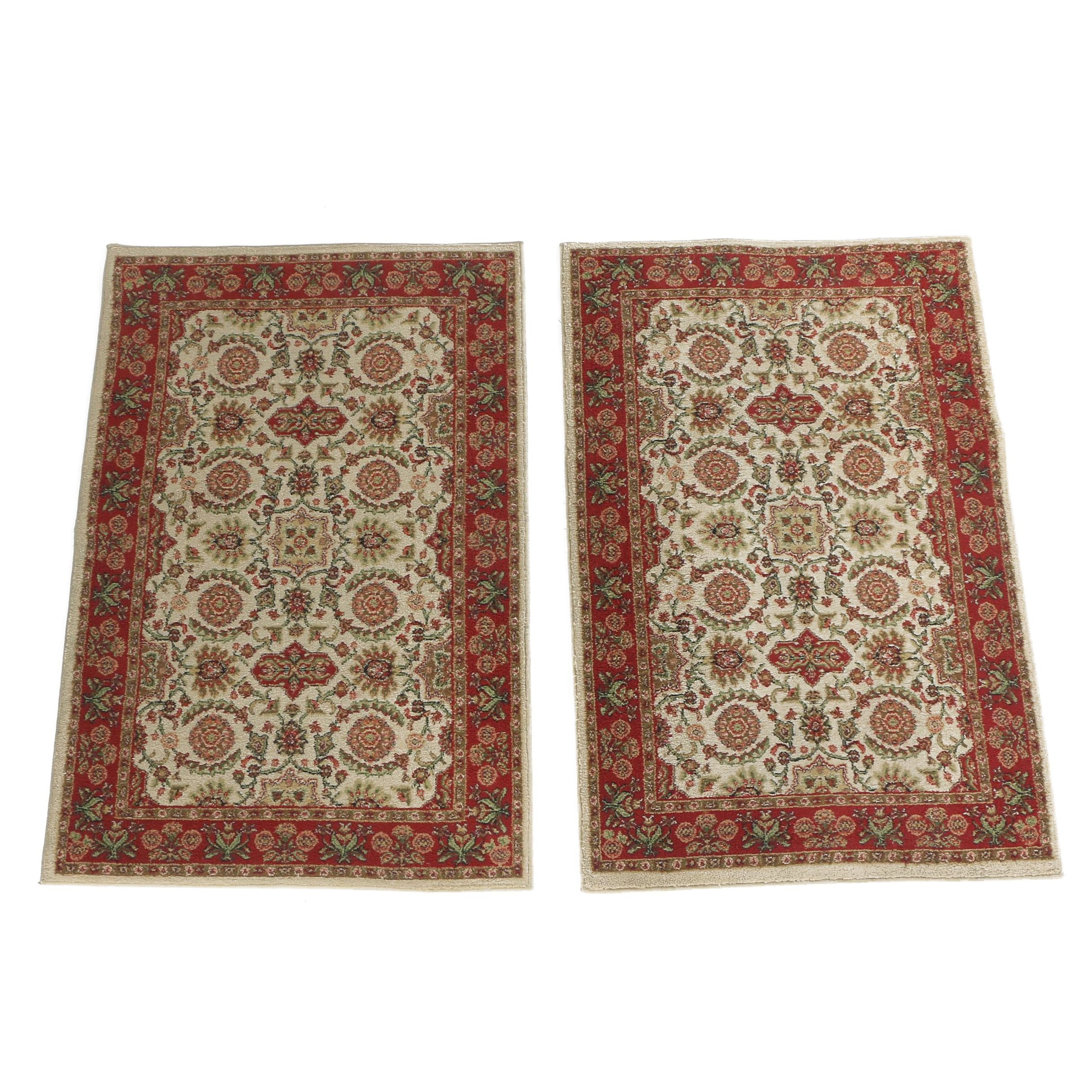 Hand-Knotted Persian Hamadan Accent Rugs