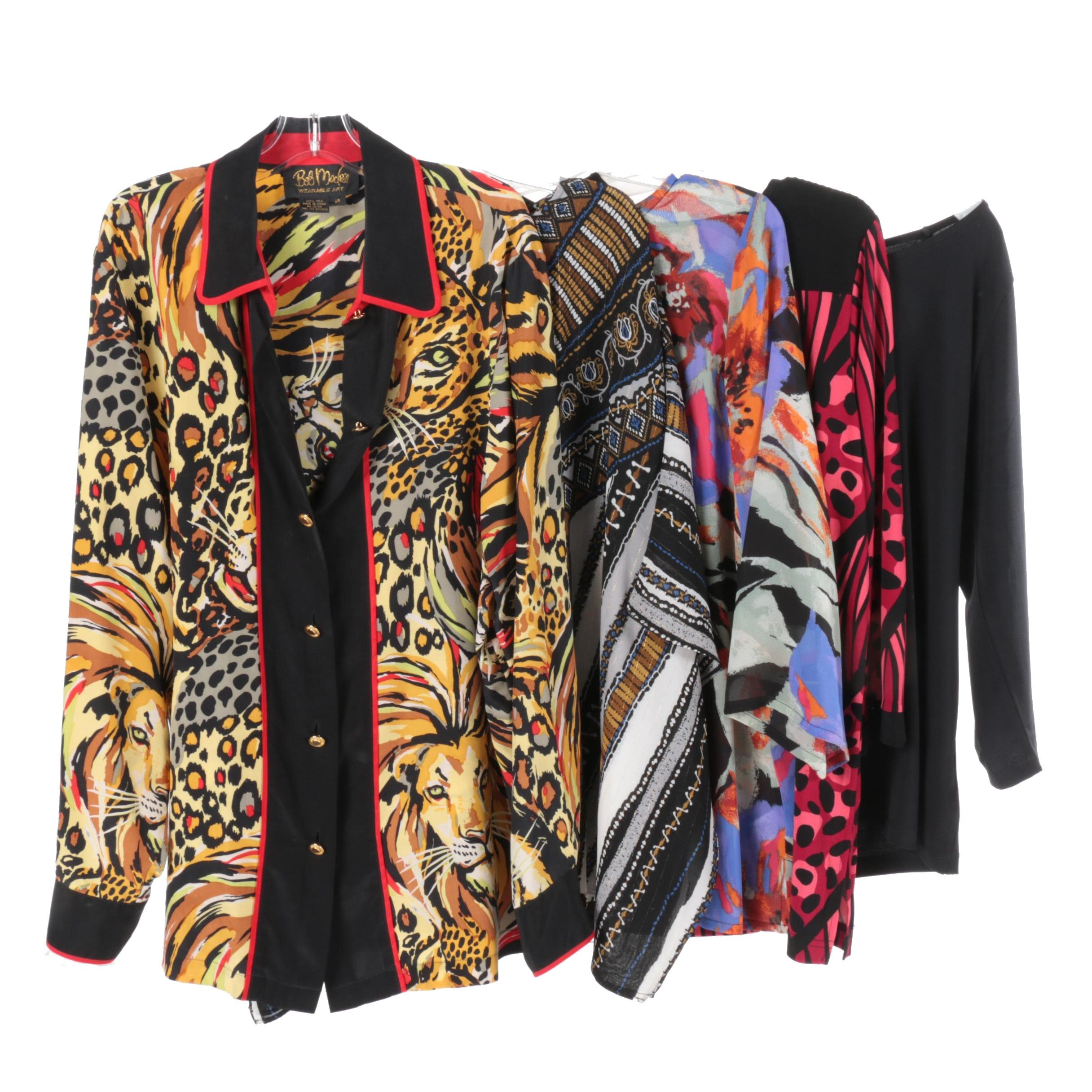 Bob Mackie Wearable Art Women's Tops