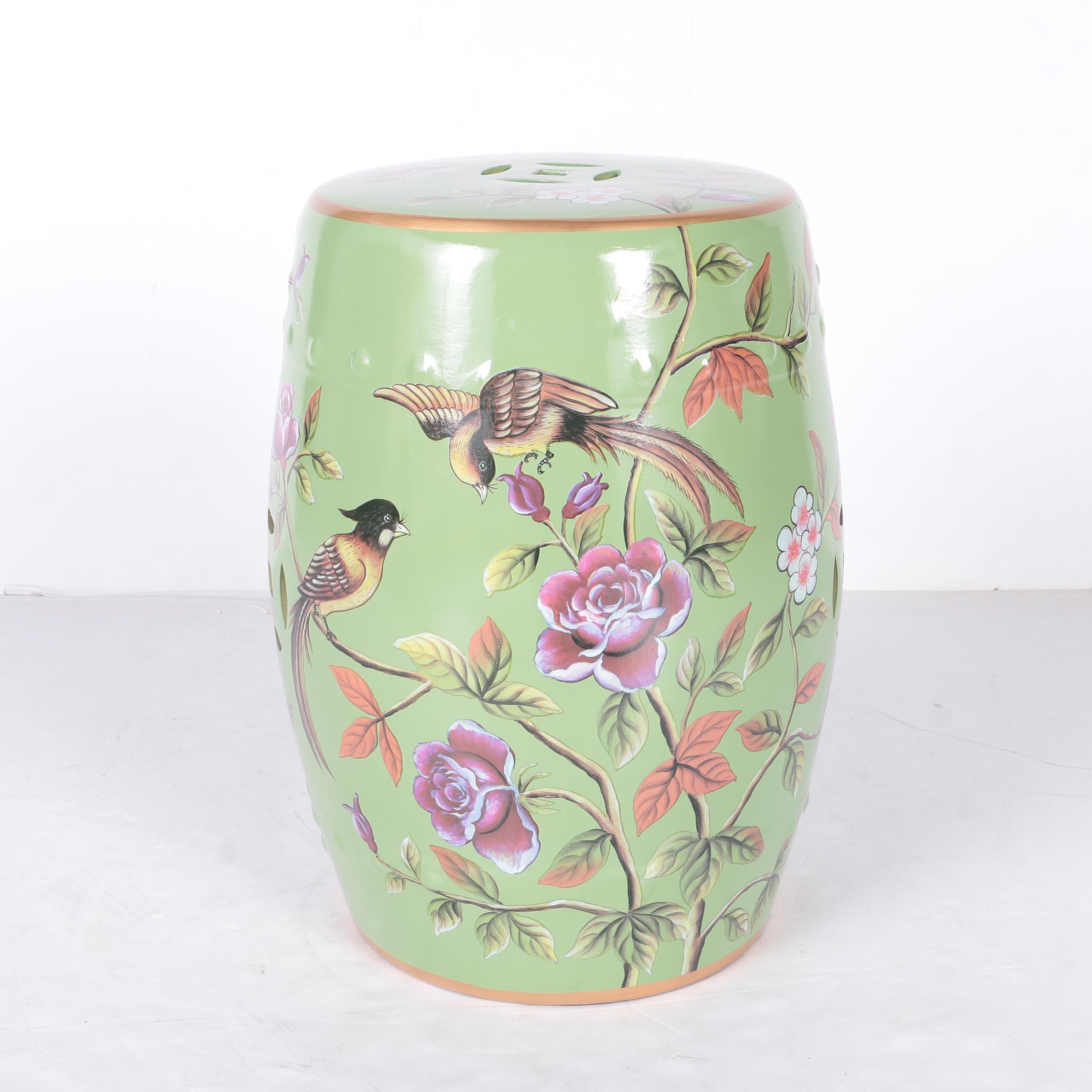 Chinese Ceramic Garden Seat