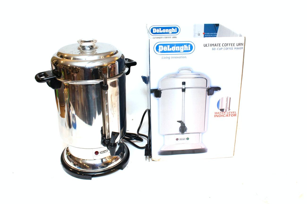 DeLonghi Sixty-Cup Coffee Urn