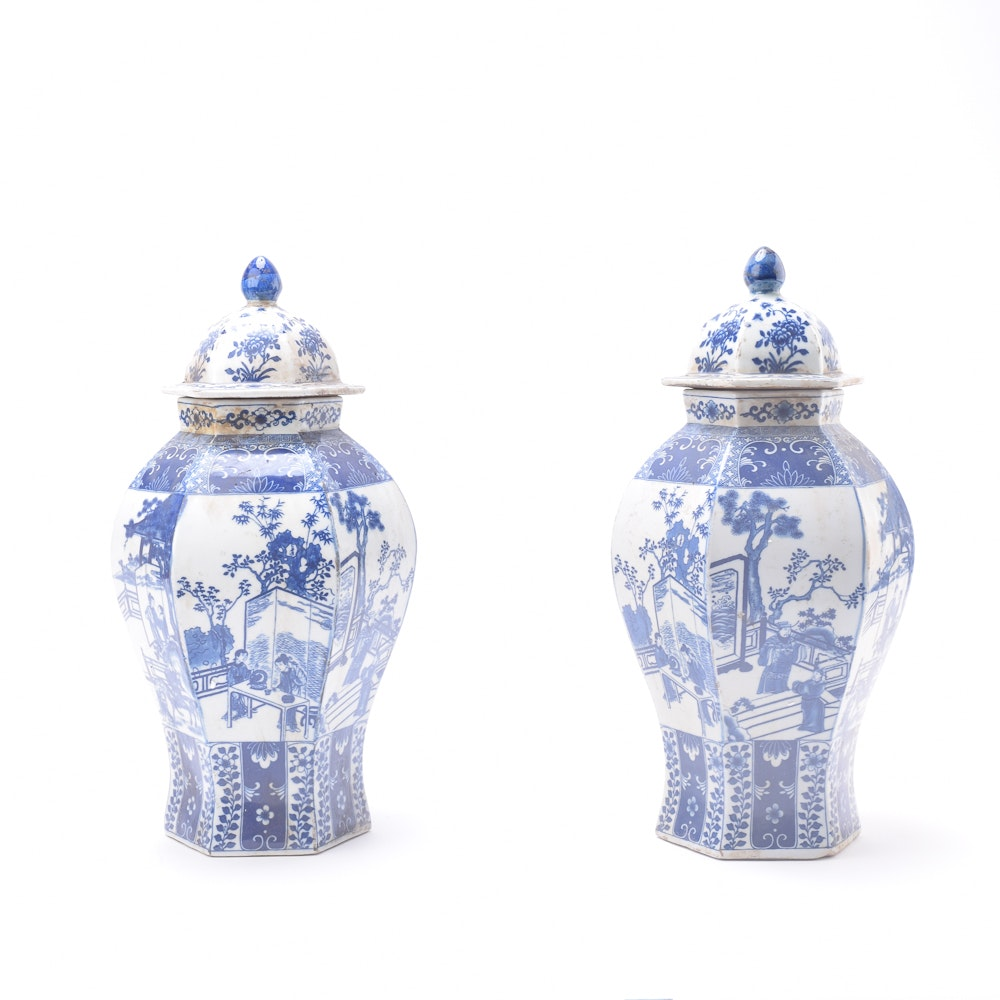 Chinese Porcelain Urns