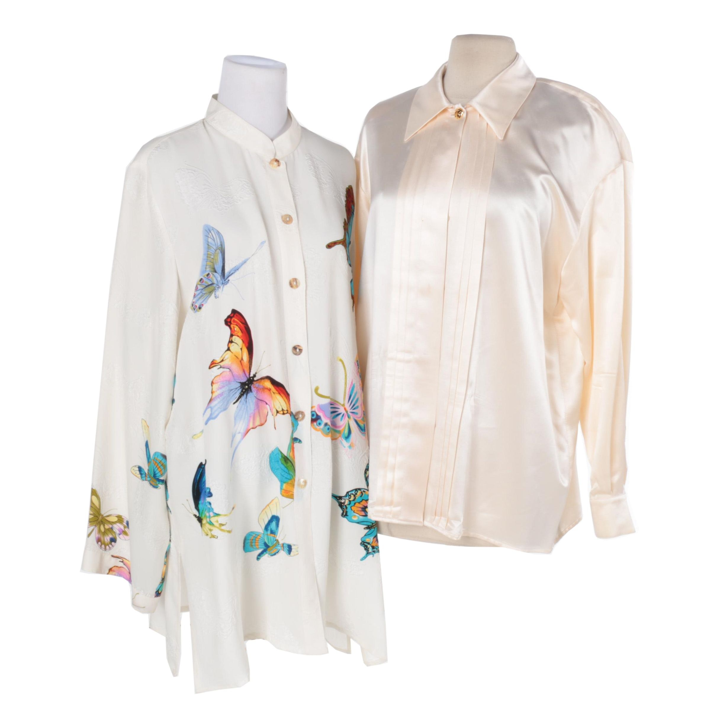Women's Silk Shirts