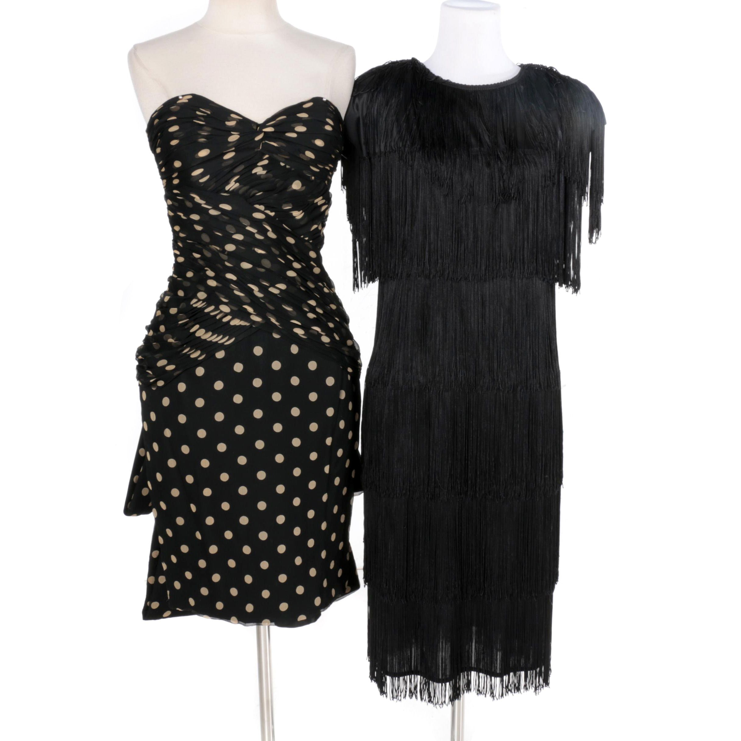 Women's Black Cocktail Dresses Including Vicki Tiel