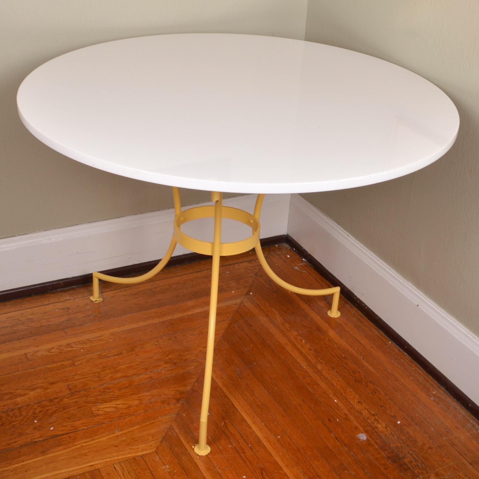 Mid Century Modern Patio/Sunroom Dinette Table