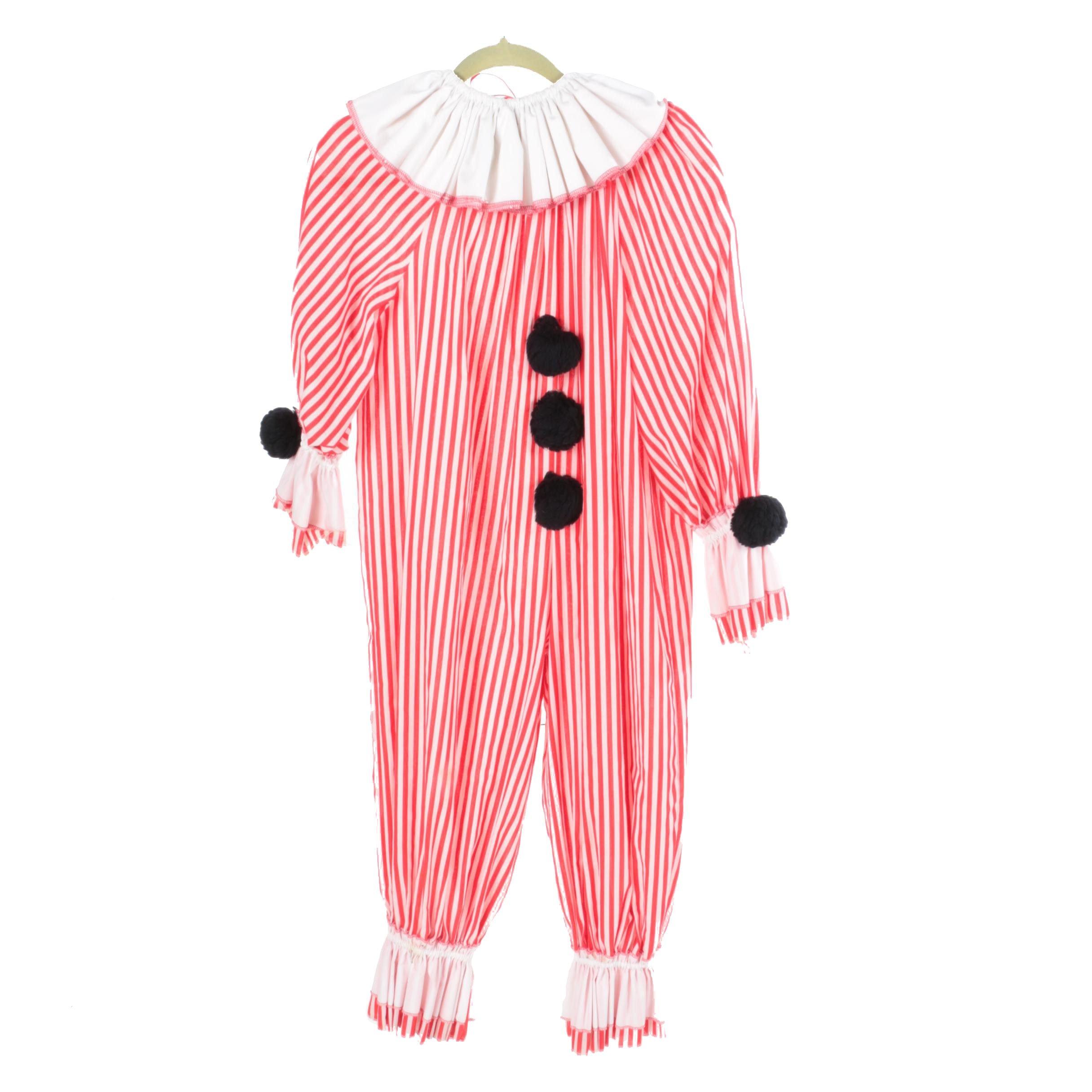 Vintage Clown Costume