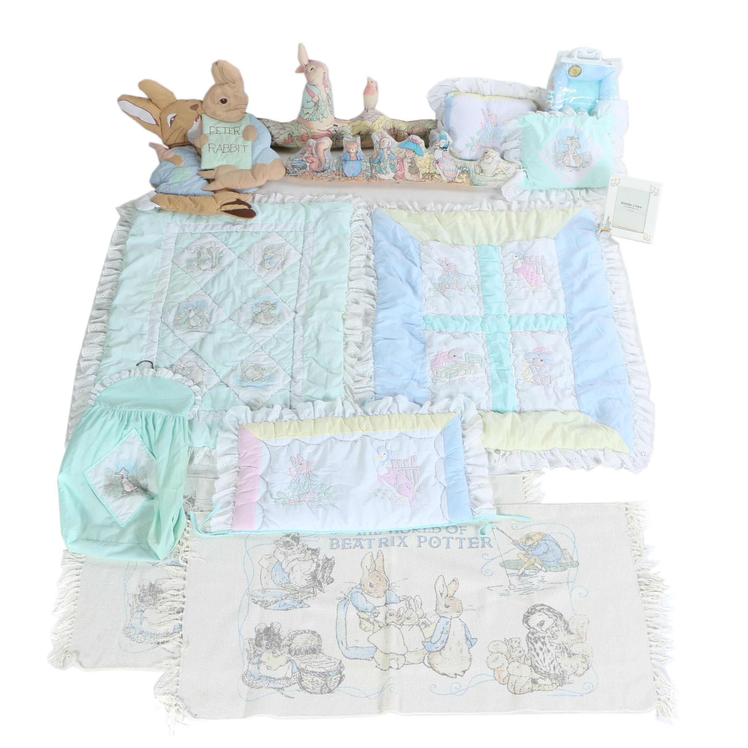 "Beatrix Potter ""Peter Rabbit"" Baby Bedding and Room Decorations"