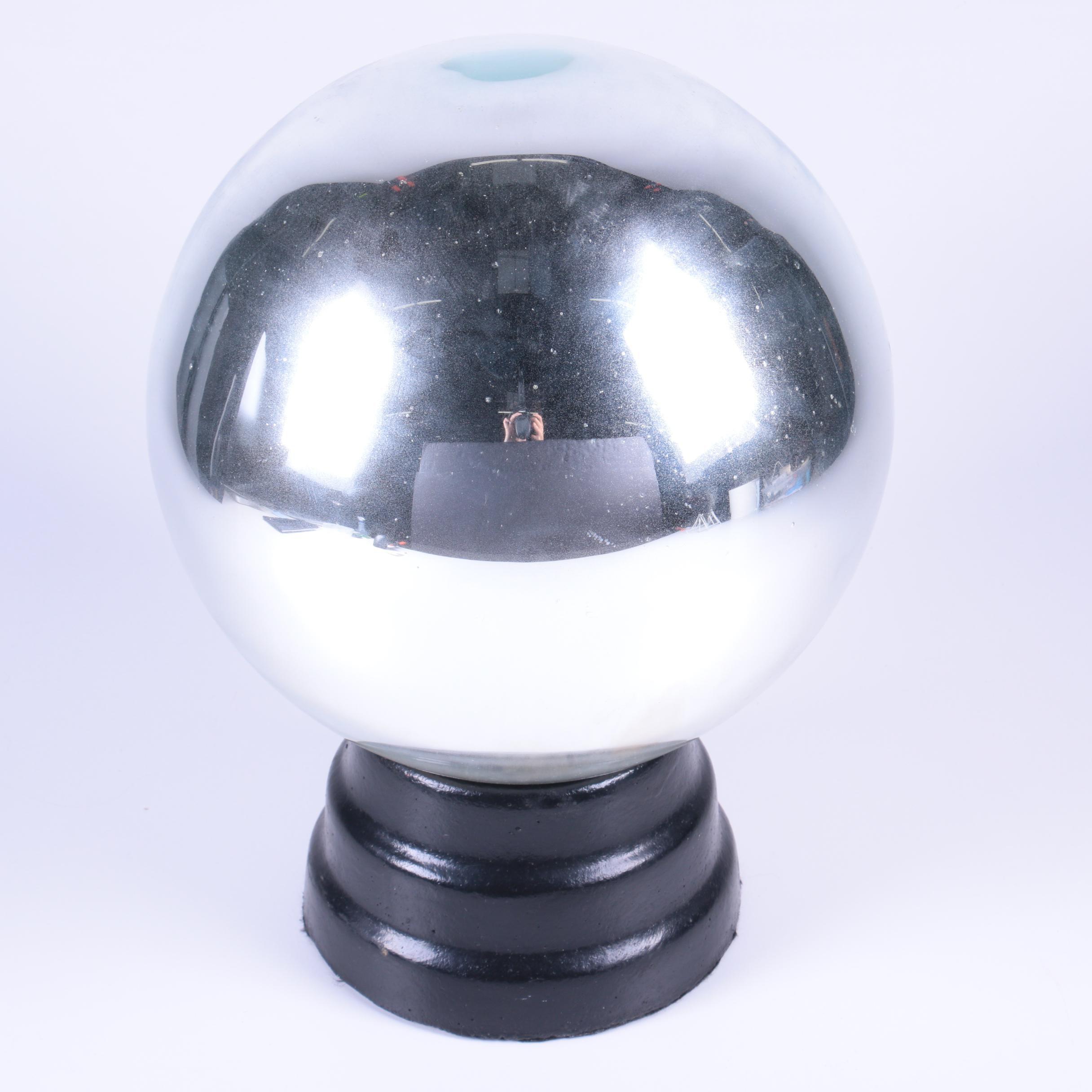 Mirrored Glass Gazing Ball