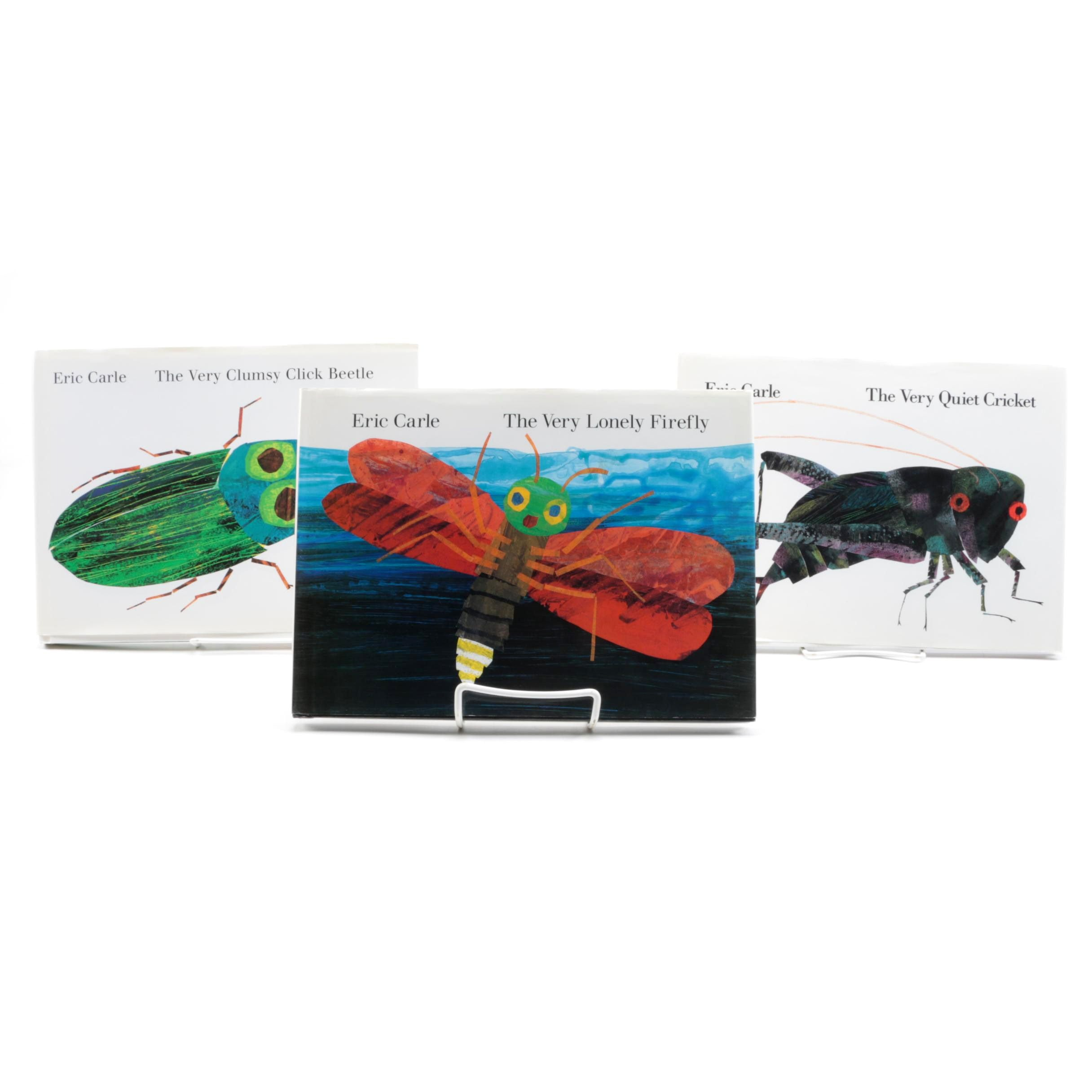 Signed Works by Eric Carle featuring Anniversary and First Editions