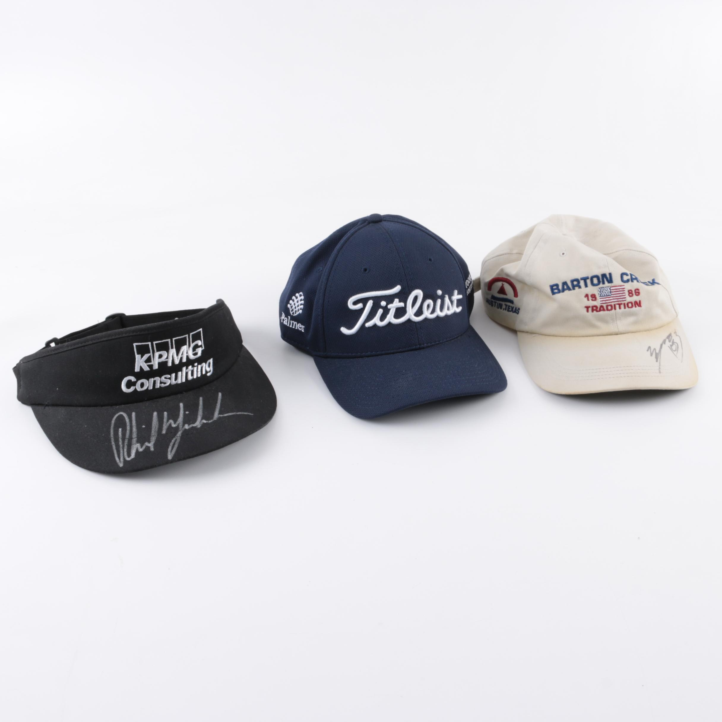 Phil Mickelson Autographed Visor