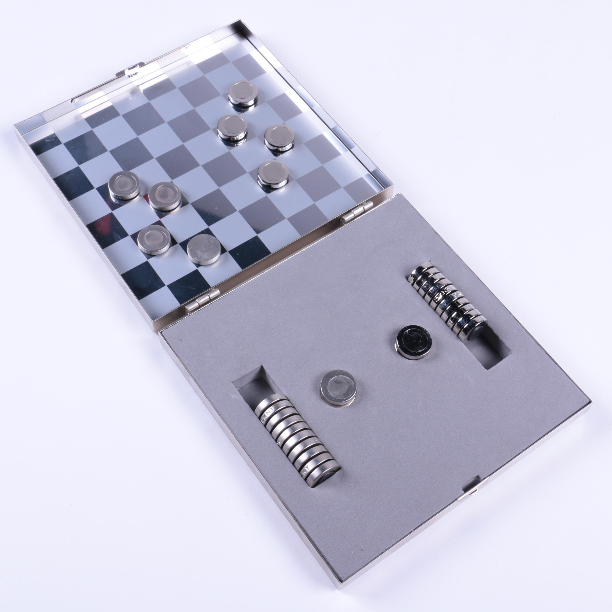 DKNY Travel Checkerboard Set