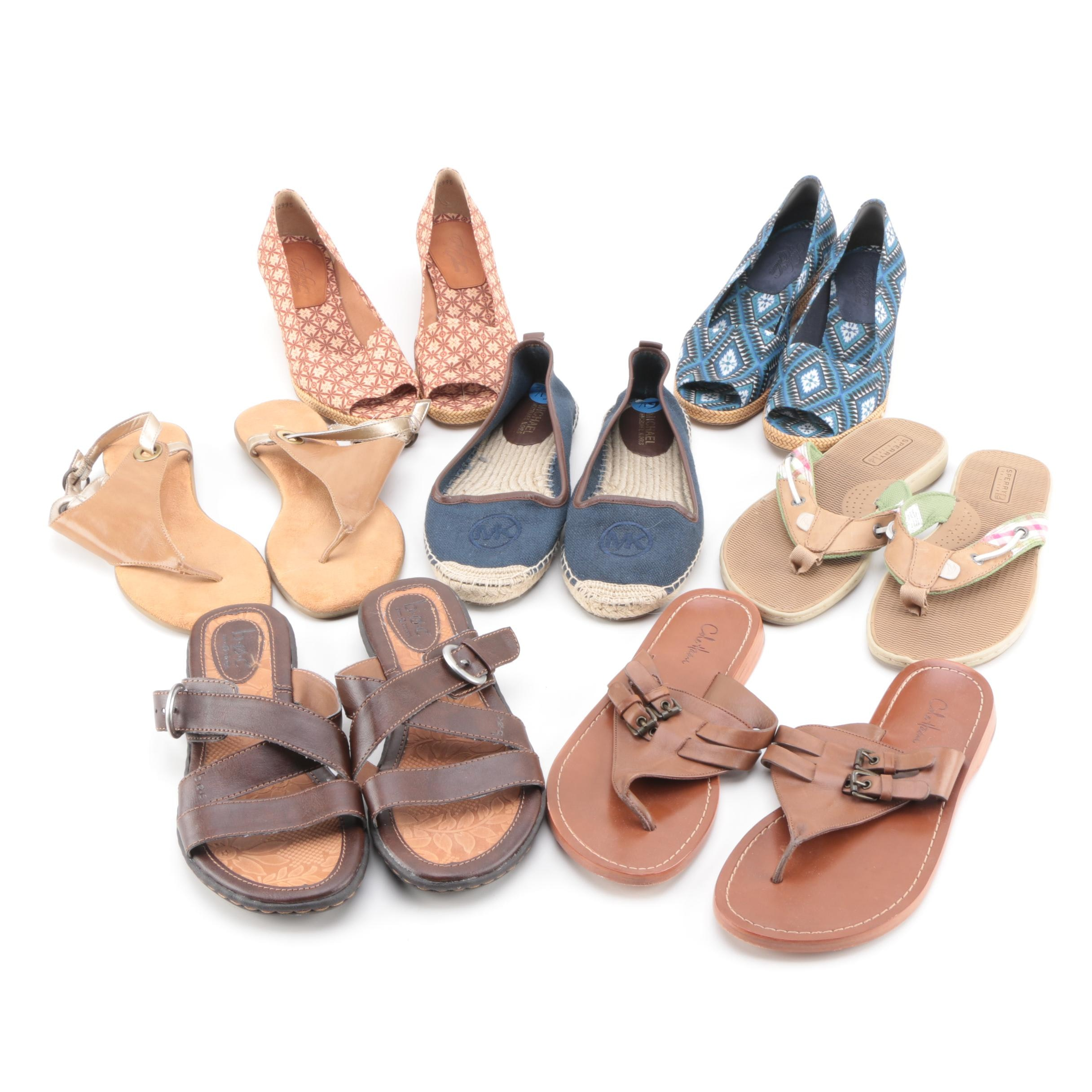 Women's Sandals, Wedges and Espadrilles Including Cole Haan and Stuart Weitzman