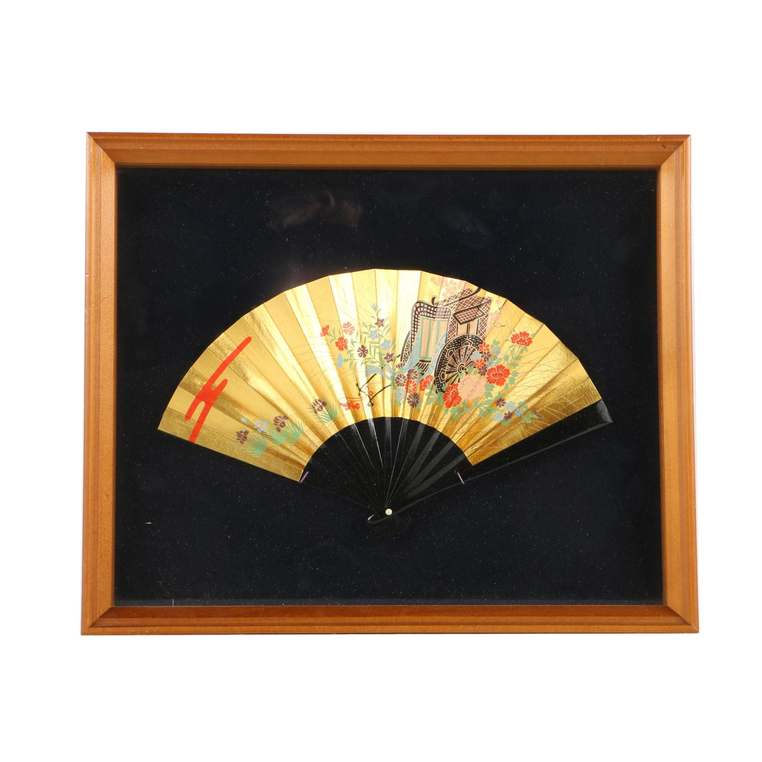 East Asian-Inspired Decorative Hand Fan