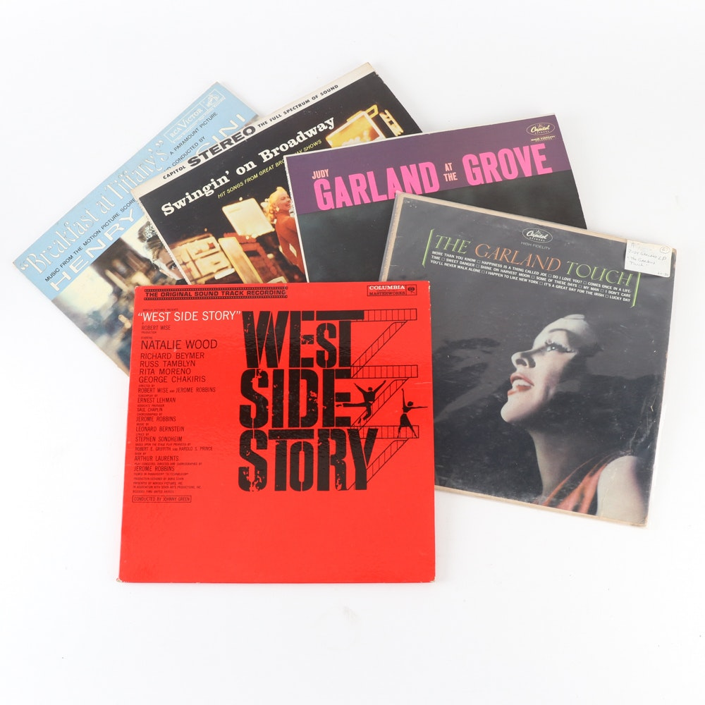 """West Side Story"", ""Breakfast at Tiffany's""Judy Garland and Other Records"