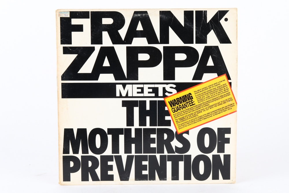 """""""Studio Tan"""" and Other Frank Zappa Record Albums"""