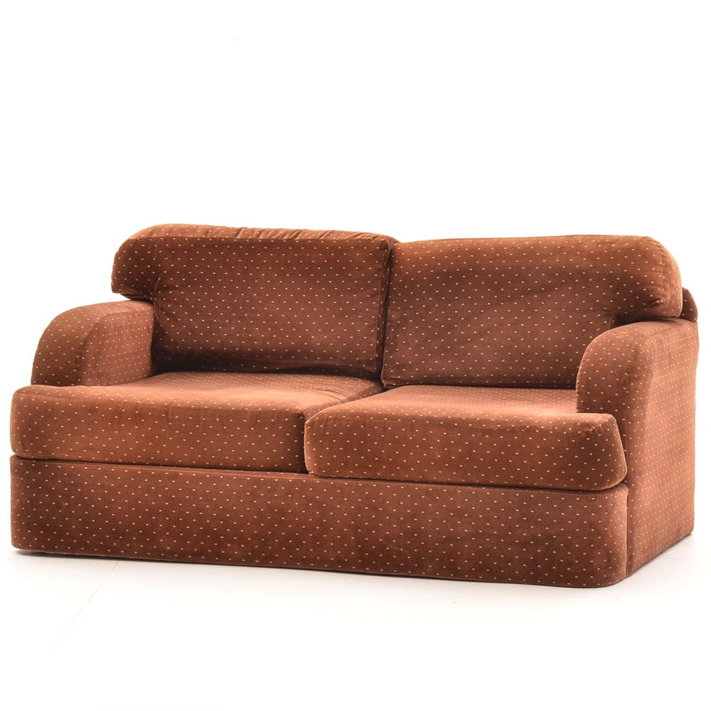 Thayer Coggin Two Seater Sofa Designed By Milo Baughman