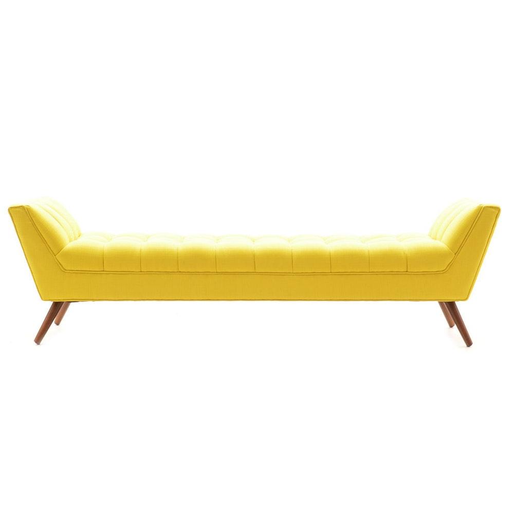 Mid Century Modern Style Bench