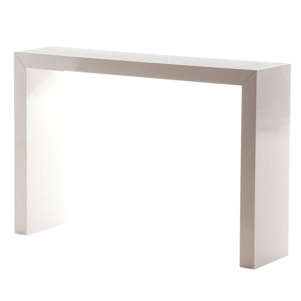 Sunpan Mid Century Modern Console Table