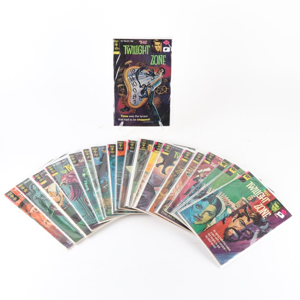 "Gold Key ""The Twilight Zone"" Comic Books"