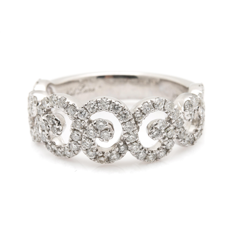 Neil Lane 14K White Gold 0.95 CTW Diamond Ring