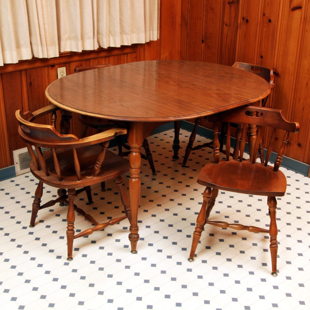 Windsor Style Dining Table and Chairs