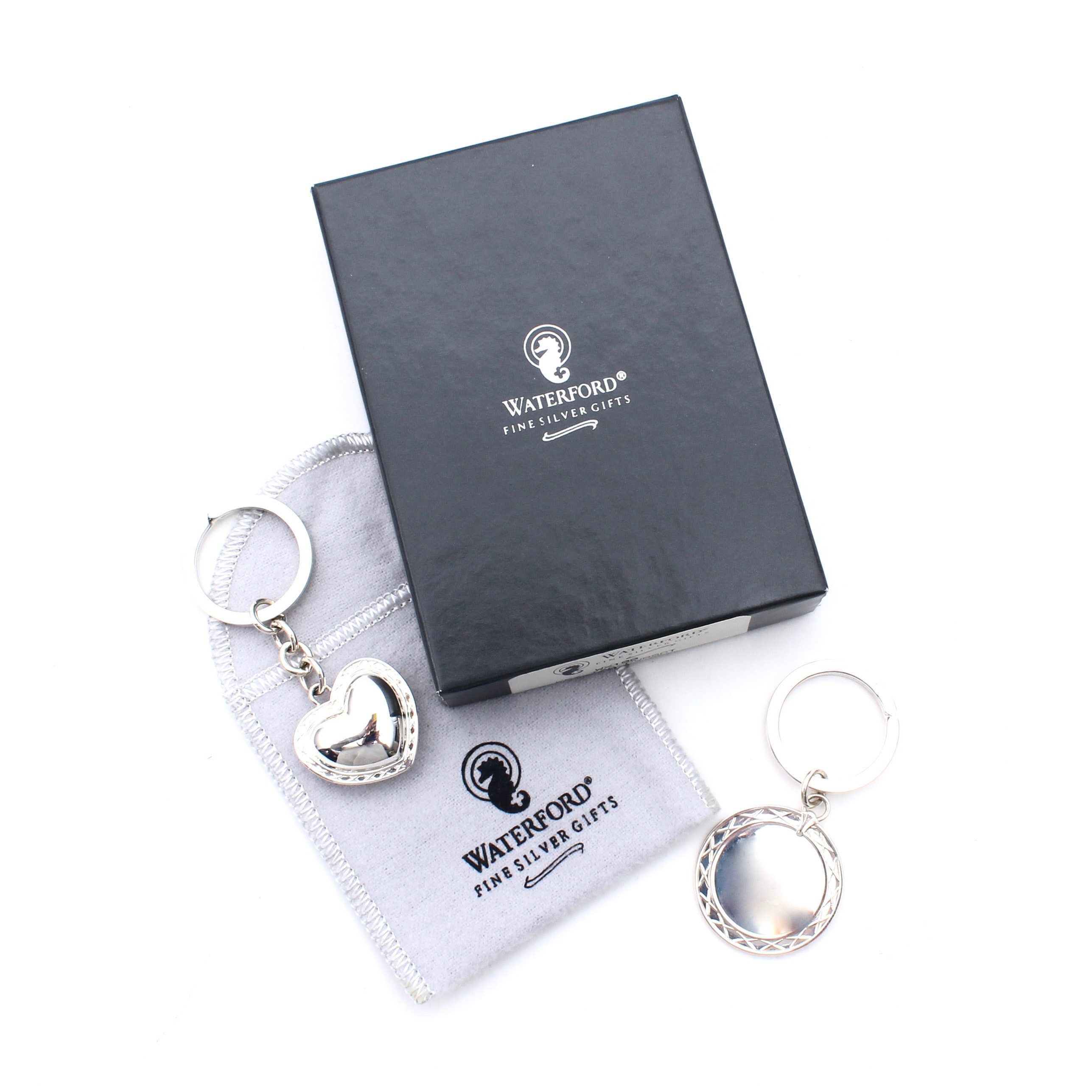 Waterford Sterling Silver Key Rings