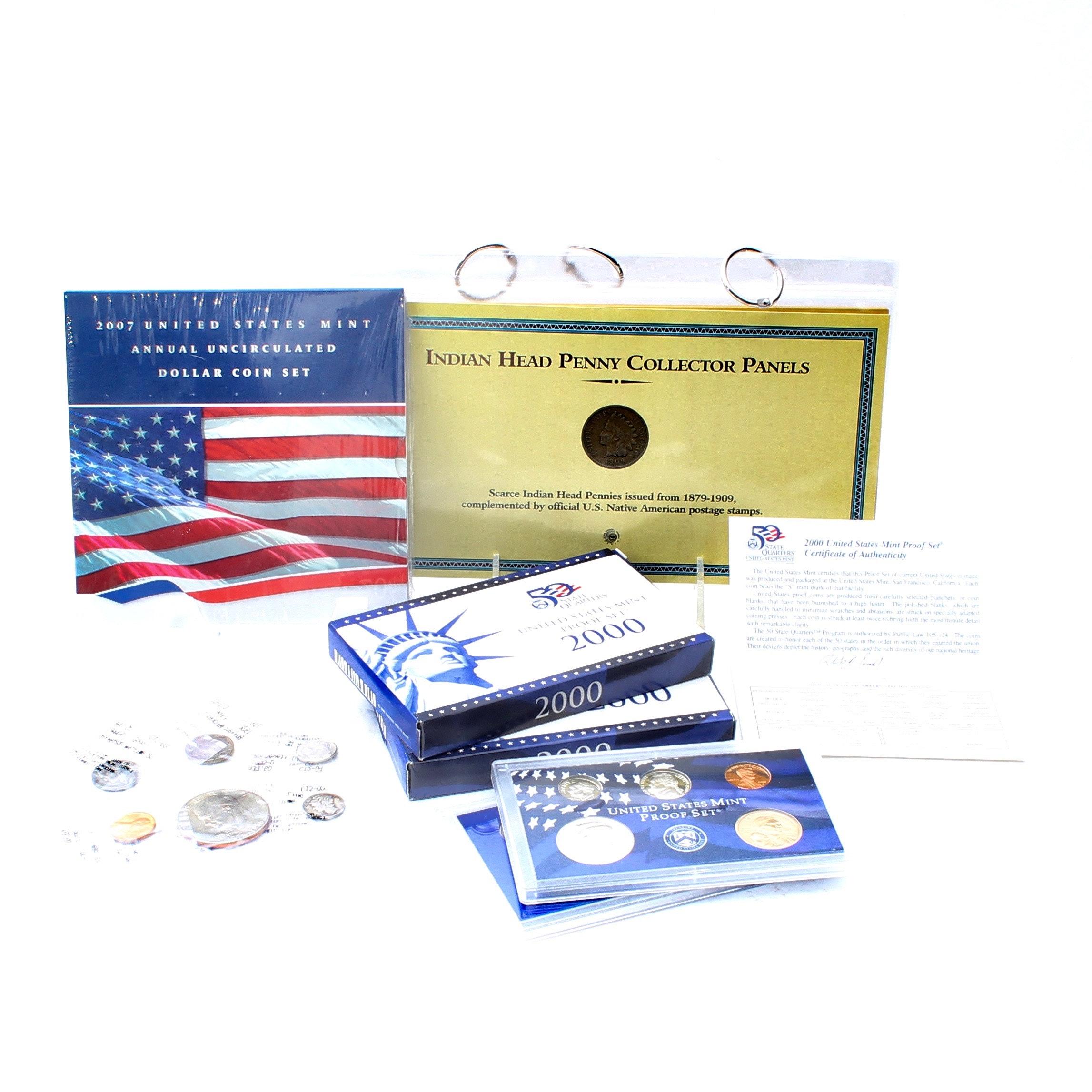 Vintage U.S. Coins and Proof Sets