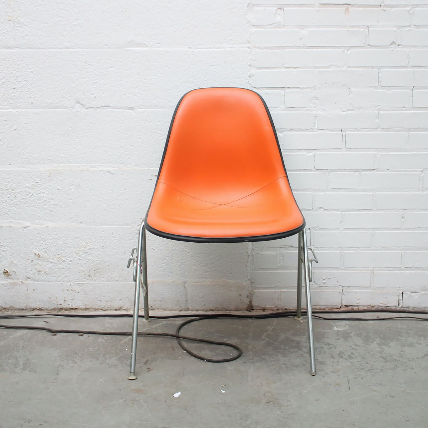 Mid Century Modern DAX Shell Chair By Eames For Herman Miller