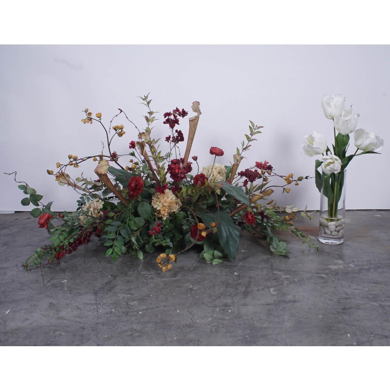 Faux Flower Arrangments