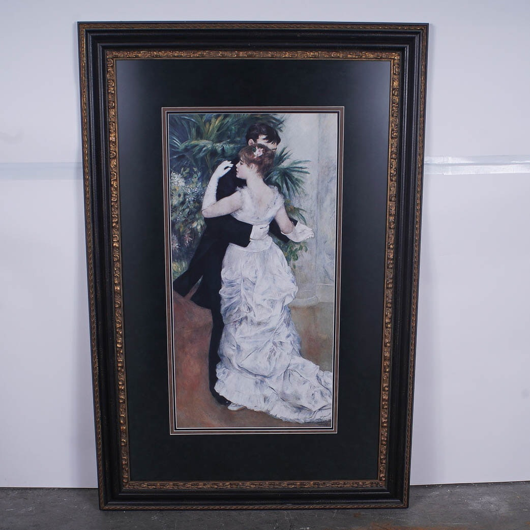 "Reproduction Print of ""Dance in the City"" after Renoir"