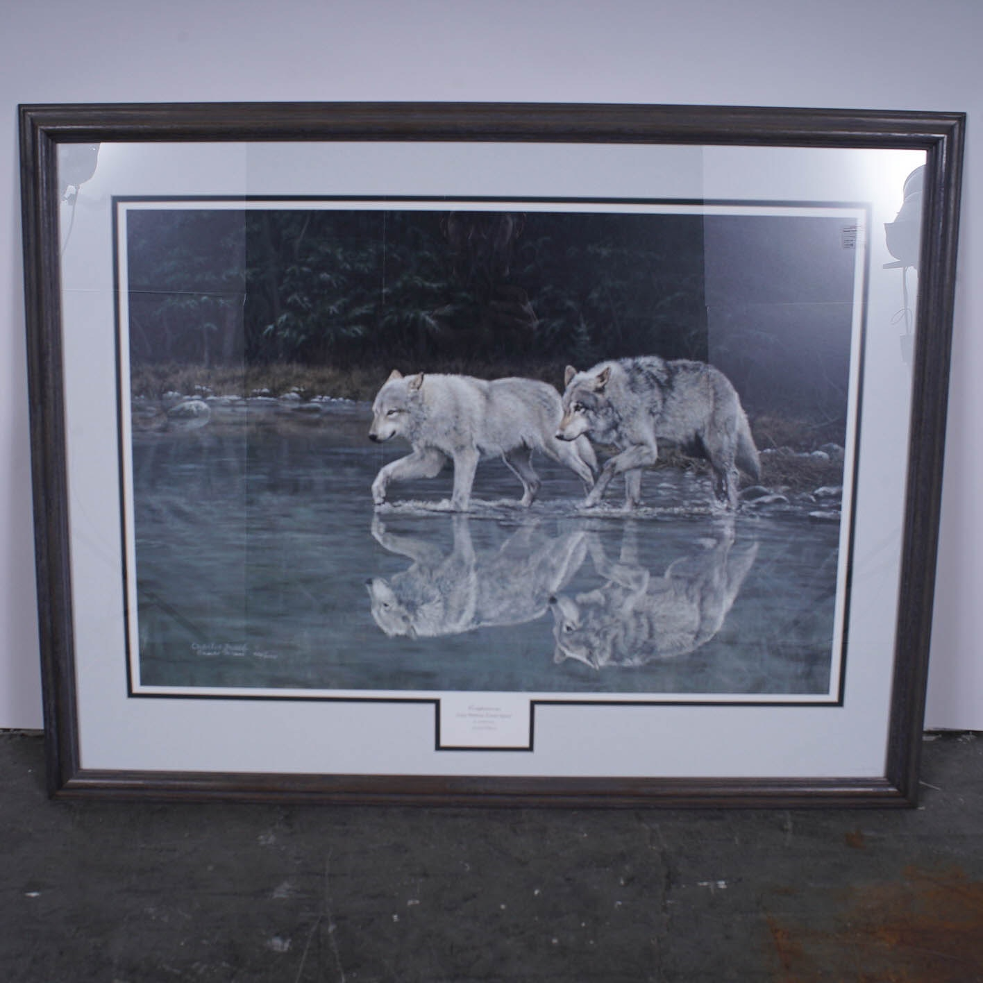 "Charles Frace Limited Edition Offset Lithograph ""Companions"""