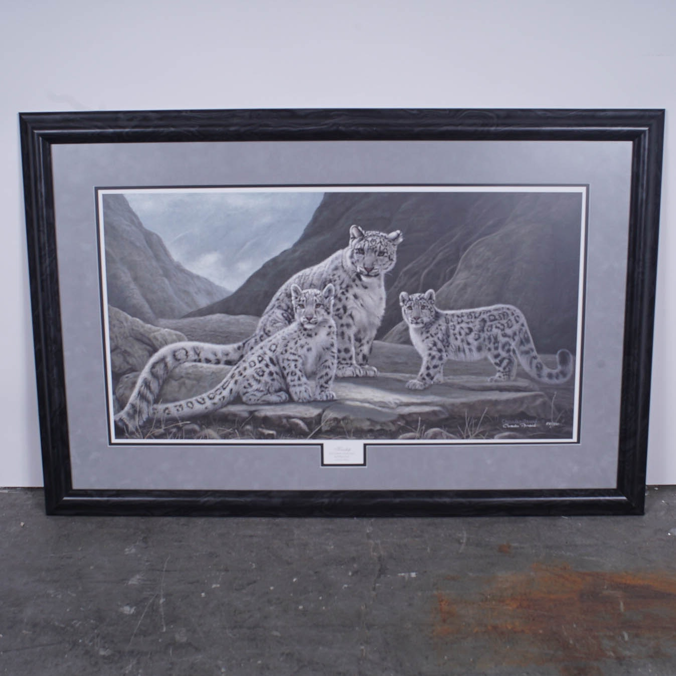 "Charles Frace Limited Edition Offset Lithograph ""Kinship"""