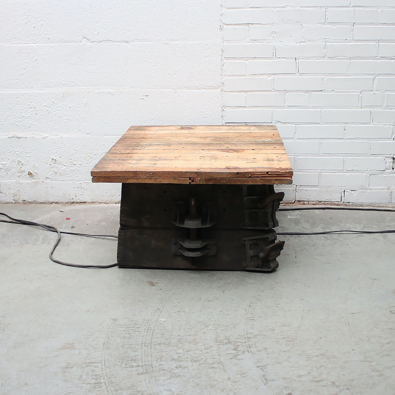 Industrial Salvage Table; 1x1 ...