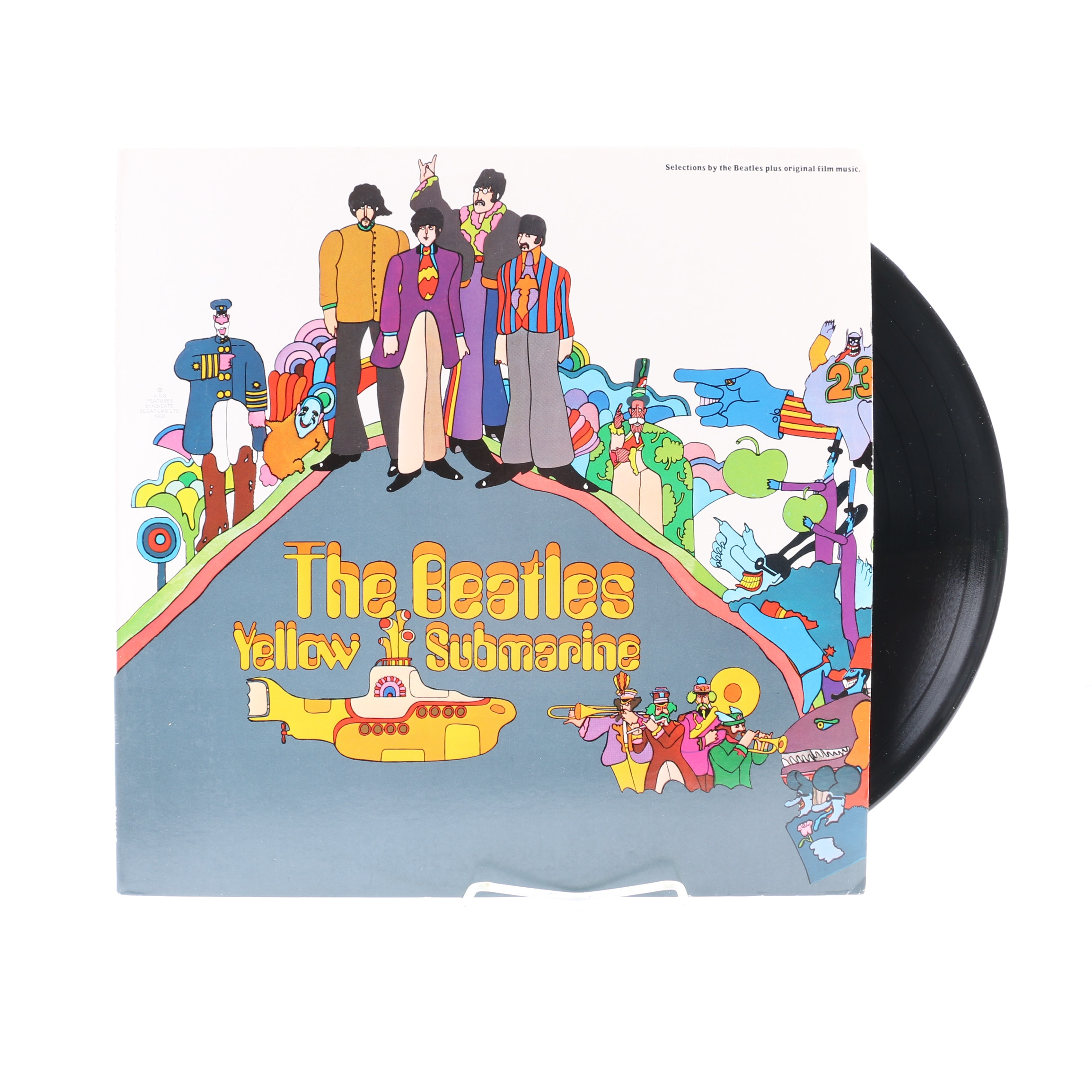"The Beatles ""Yellow Submarine"" 1969 US Pressing LP"