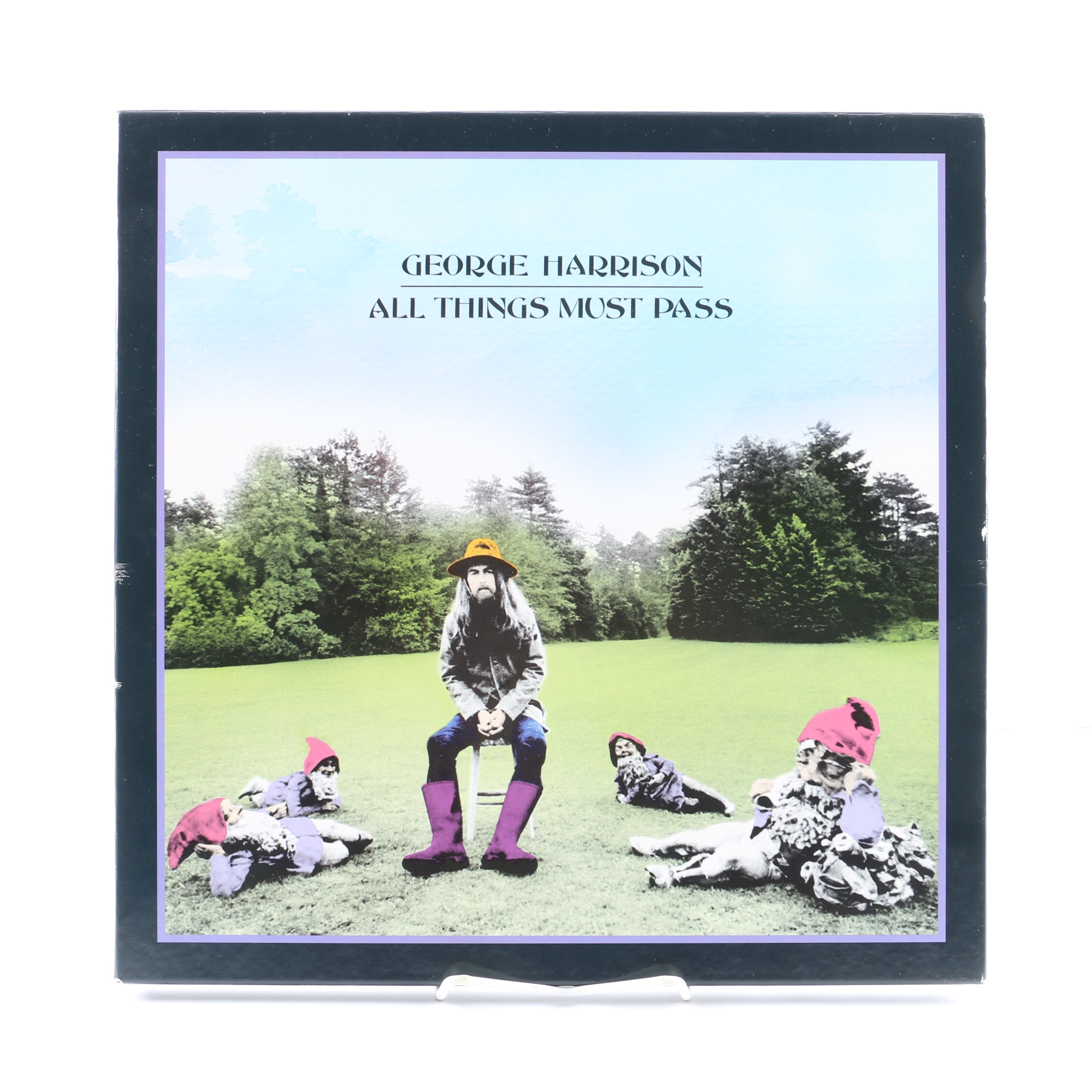 "George Harrison ""All Things Must Pass"" Remastered LP Box Set"