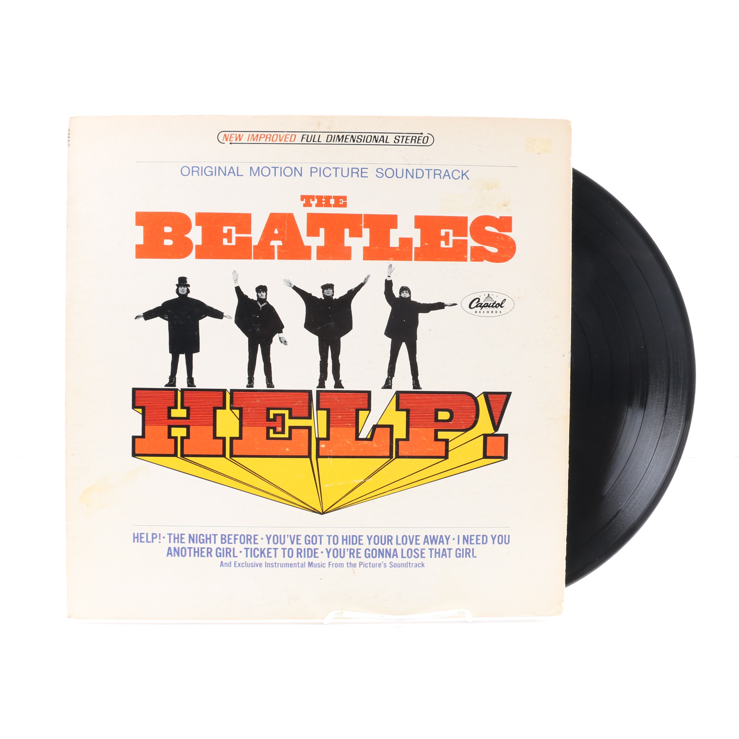 "The Beatles ""Help!"" 1971 Original Motion Picture Soundtrack"