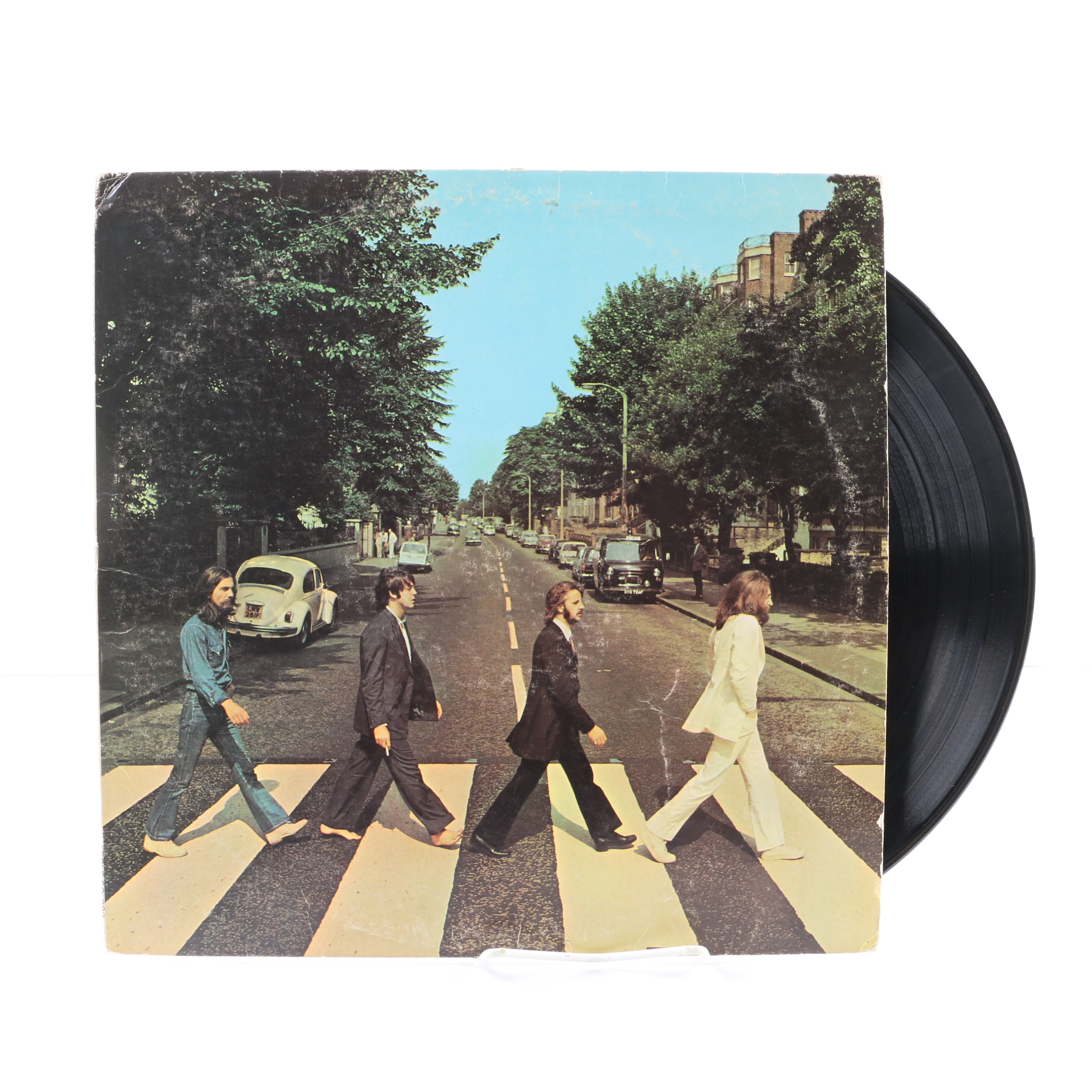 """The Beatles """"Abbey Road"""" 1969 """"Her Majesty"""" Variant US LP"""