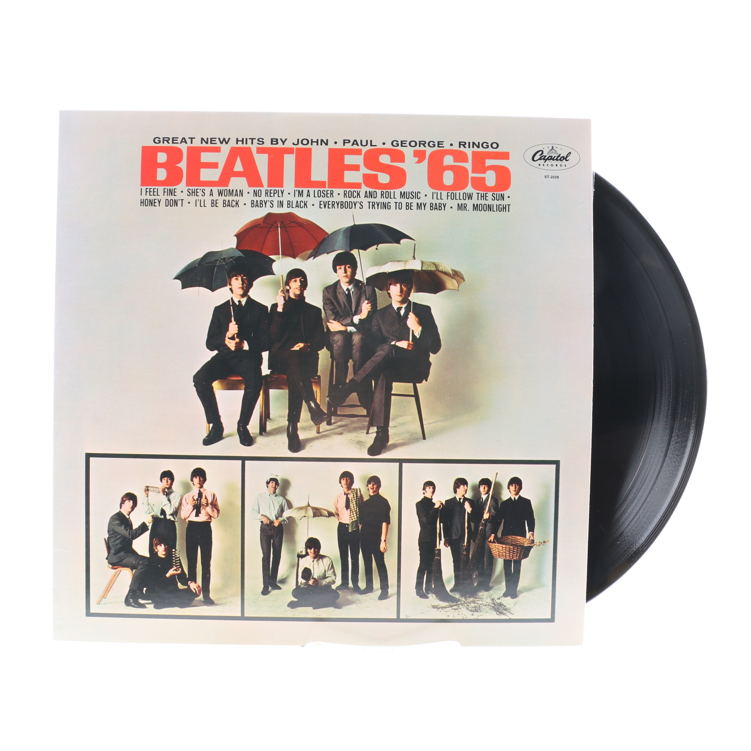 """Beatles '65"" US Stereo Reissue LP"