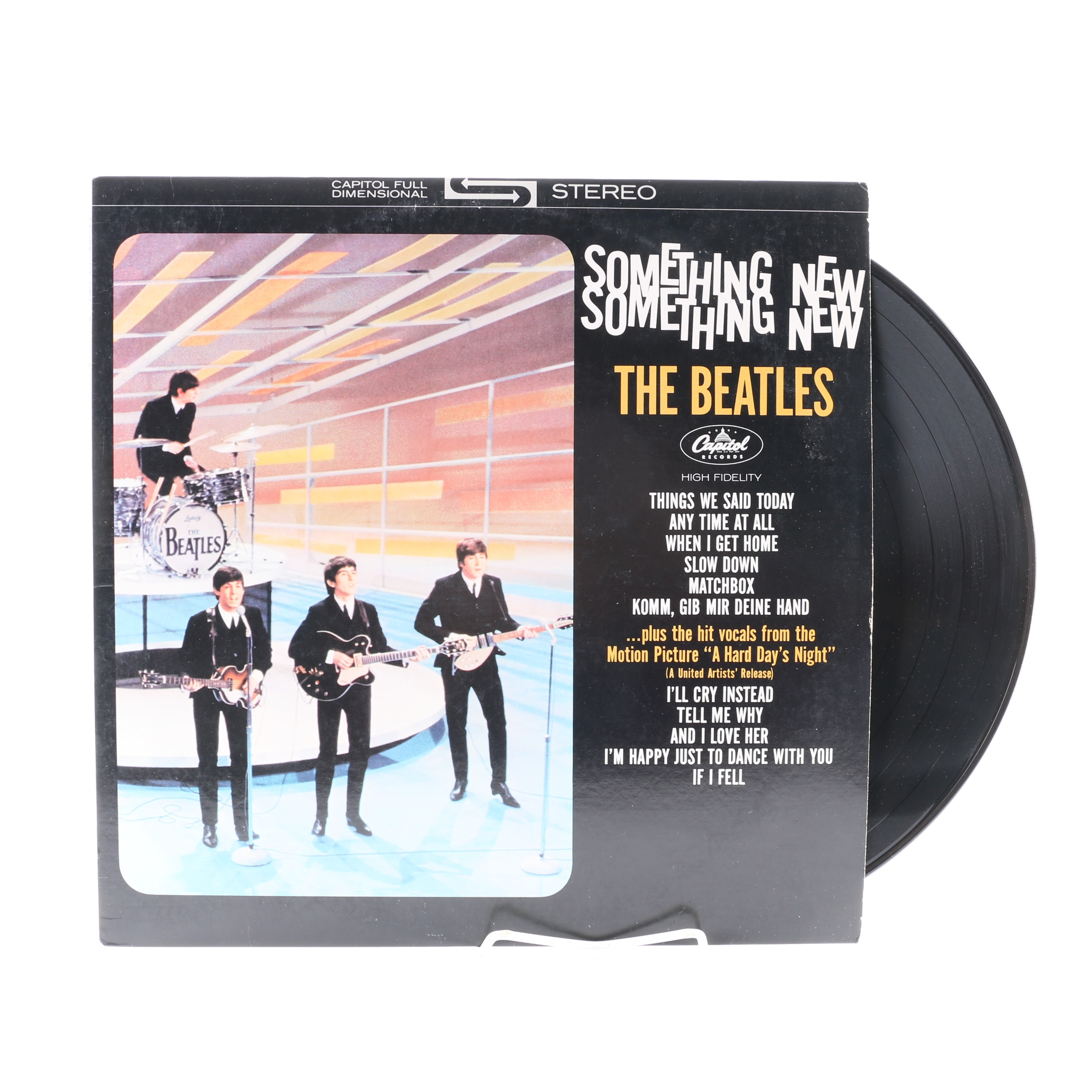 "The Beatles ""Something New"" US Stereo Reissue LP"
