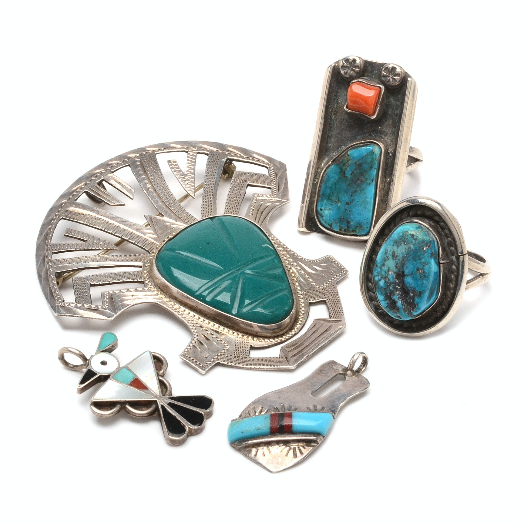 Sterling Silver Turquoise Jewelry