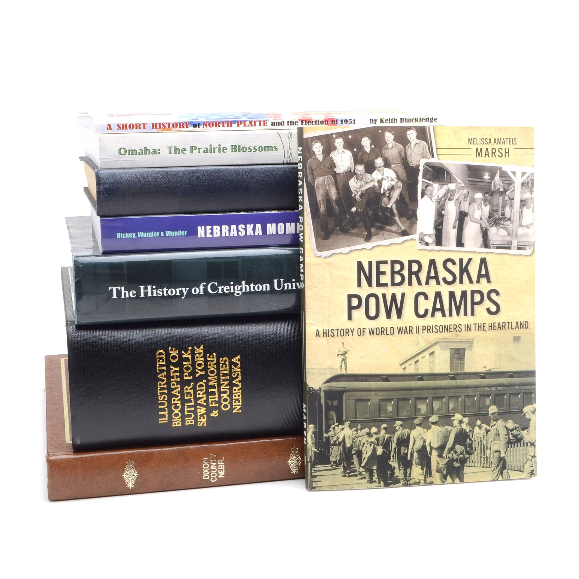 Collection of Books on Nebraska History