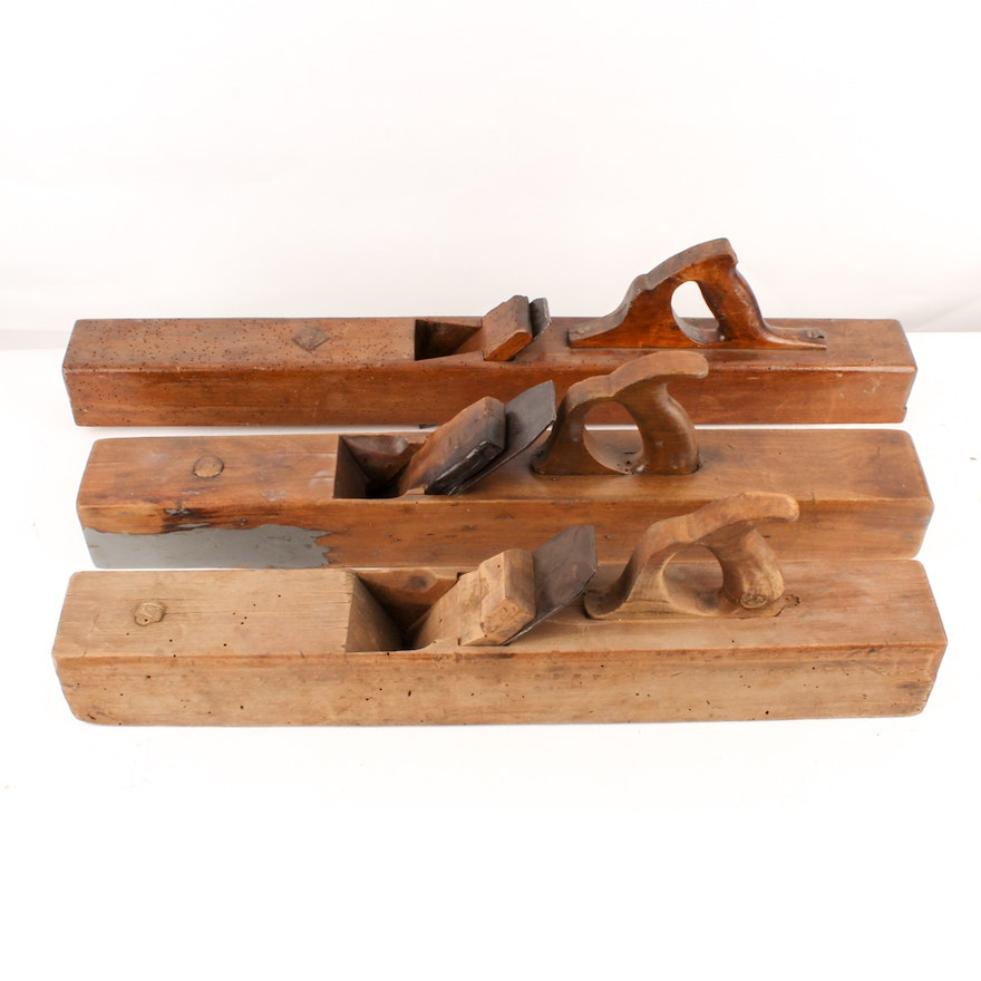Antique Woodworking Planes Ebth