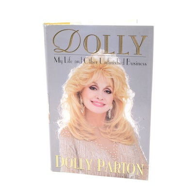 Dolly Parton Signed Autobiography