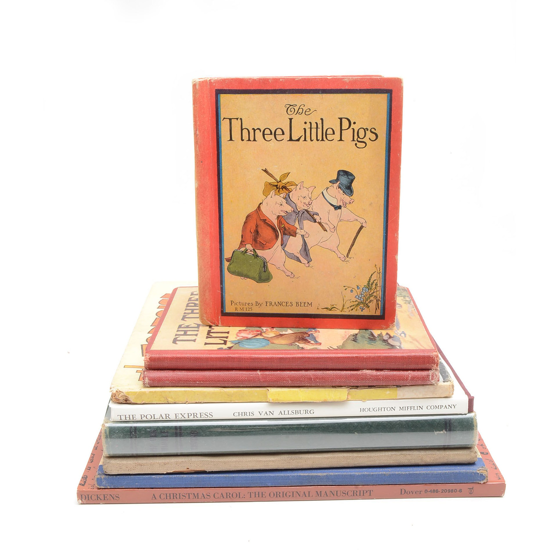 "Vintage Classic Children's Books Including a 1921 ""Rip Van Winkle"""