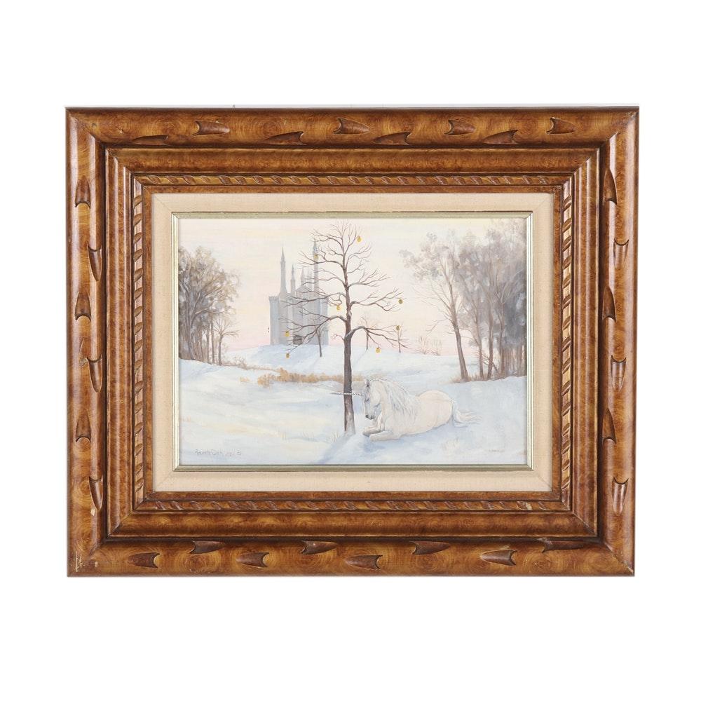 Roberta Clark Oil Painting on Canvas