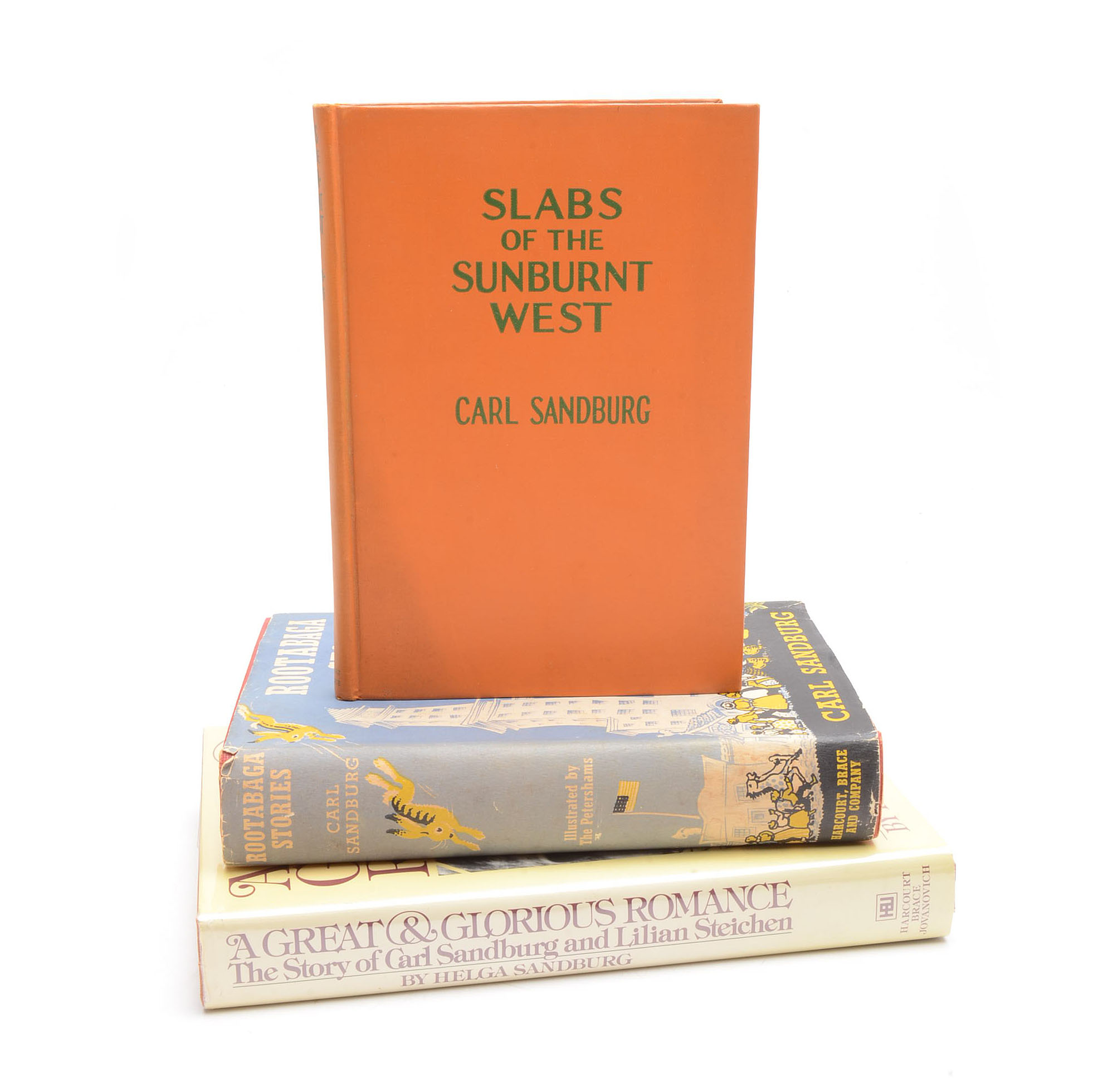 Sandburg malen  Collection of Signed Carl Sandburg Books : EBTH